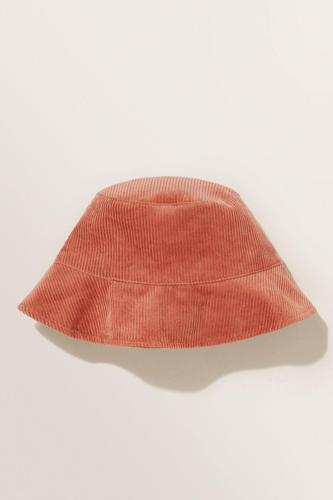 Cord Bucket Hat  CLAY  hi-res