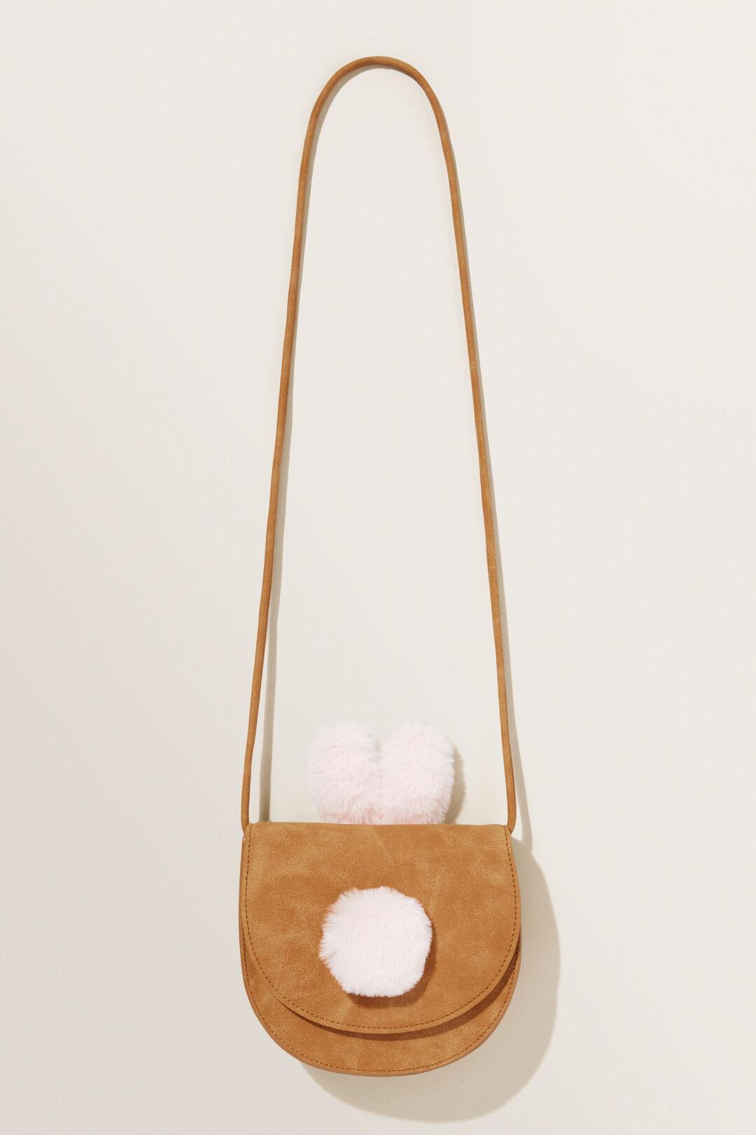 Bunny Ears Saddle Bag  TAN  hi-res