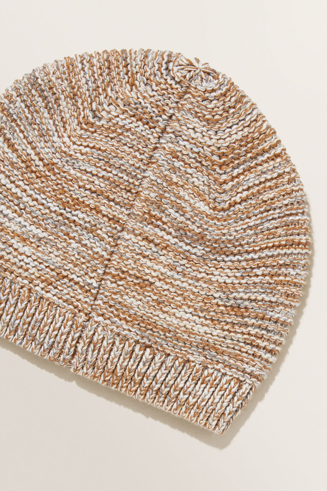 Knitted Rib Beanie  MULTI  hi-res