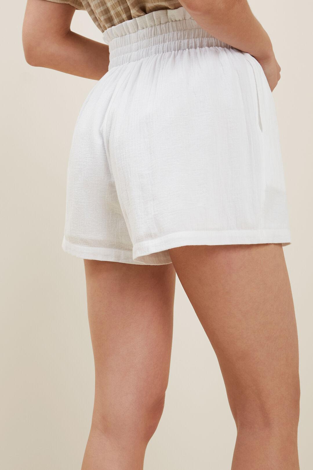 Paperbag Short  WHISPER WHITE  hi-res