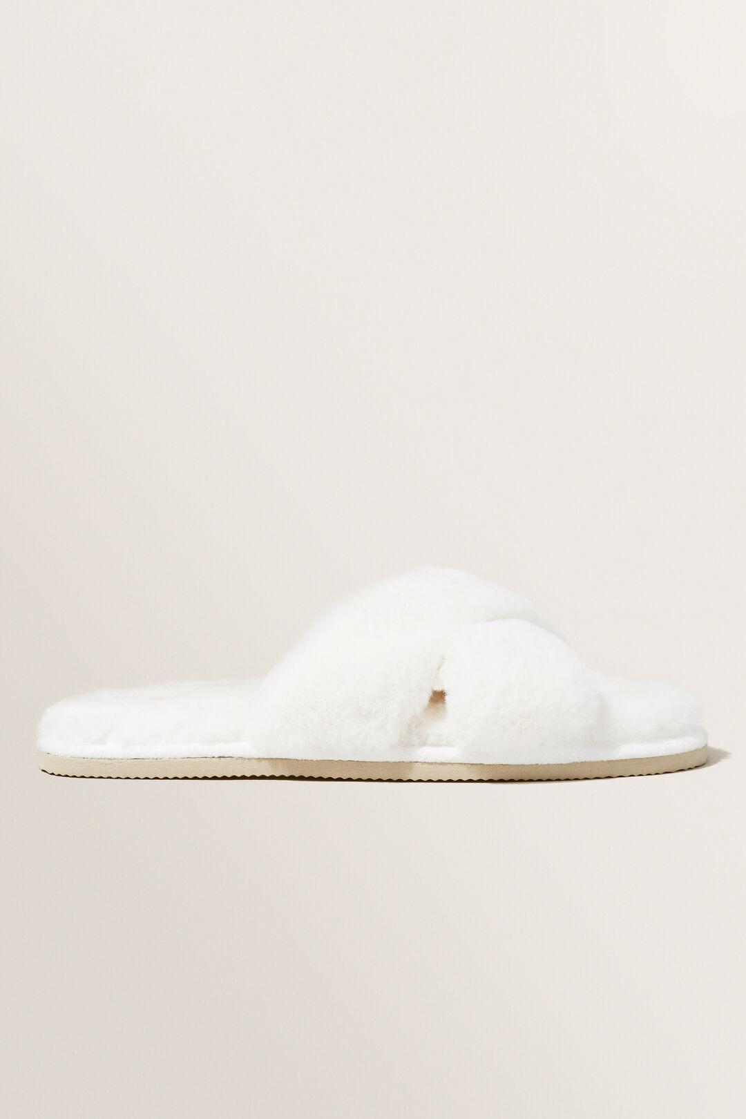 Crossover Slippers  CREAM  hi-res