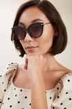 Olivia Cat-Eye Sunglasses  BLACK  hi-res