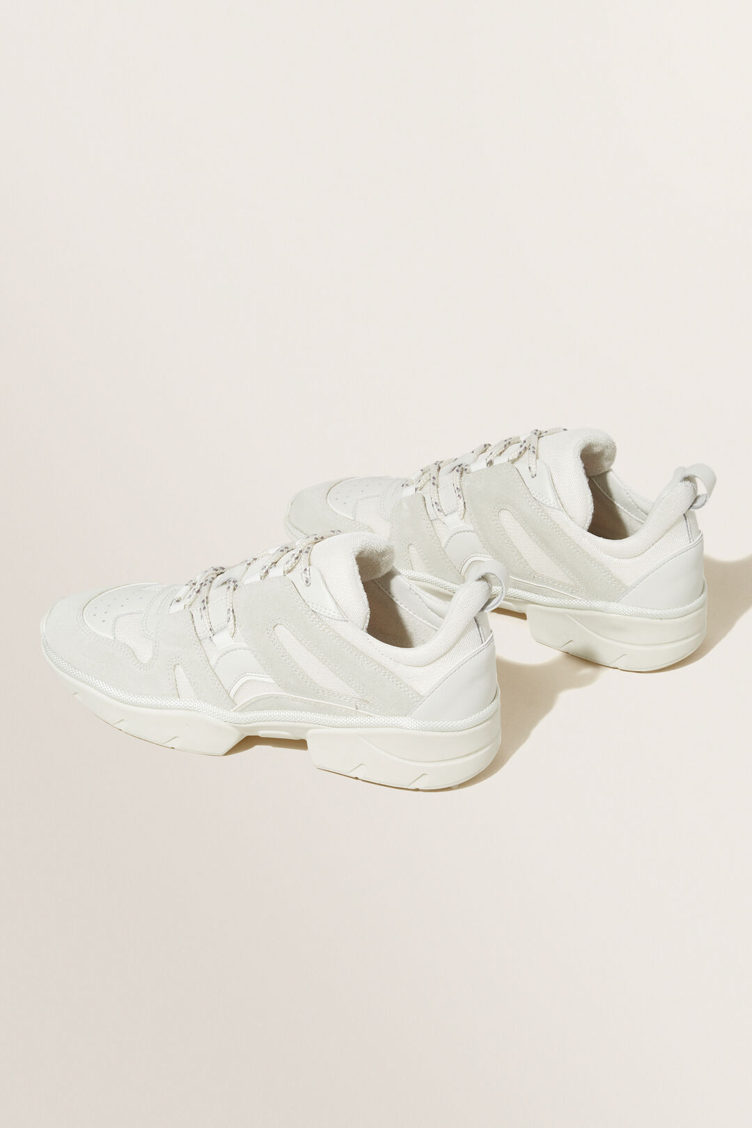 Rose Sneaker  WHITE FRENCH BEIGE  hi-res