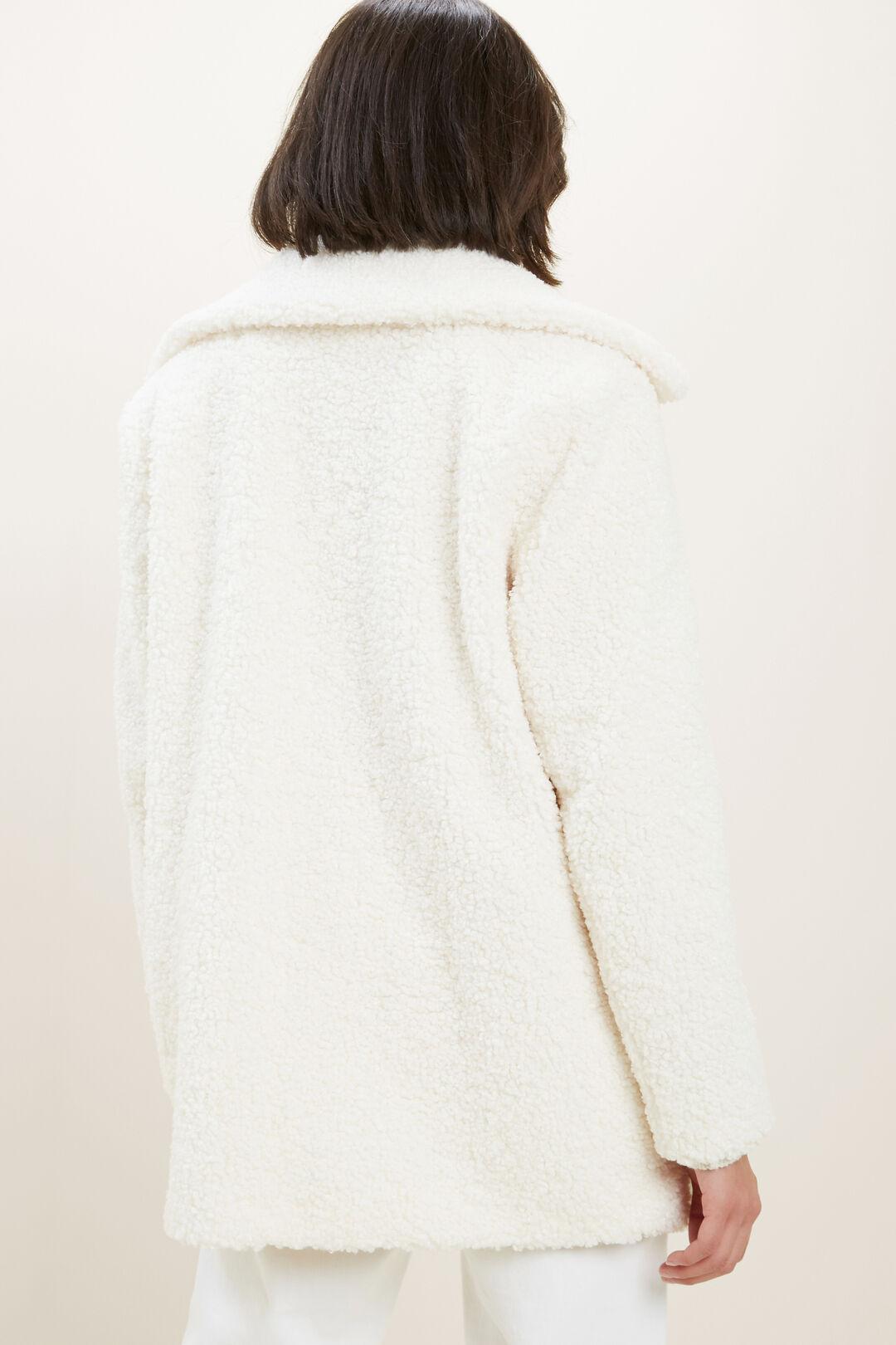 Teddy Coat  CLOUD CREAM  hi-res