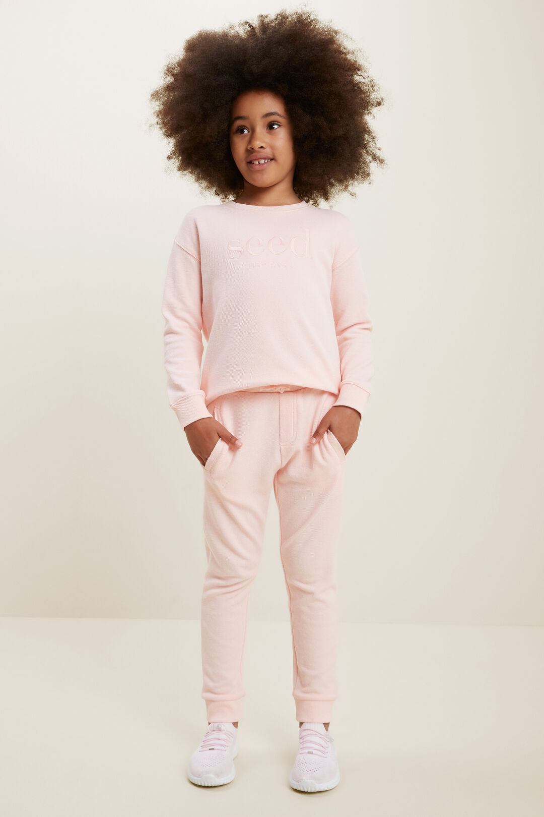 Essential Trackpant  DUSTY ROSE  hi-res