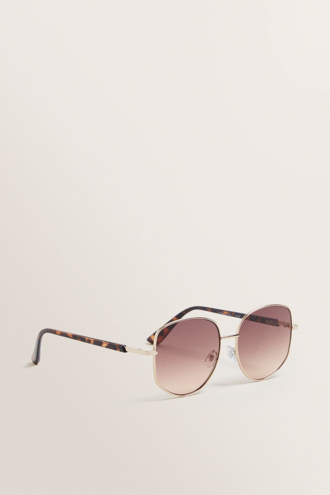 Riley Round Sunglasses  GOLD  hi-res