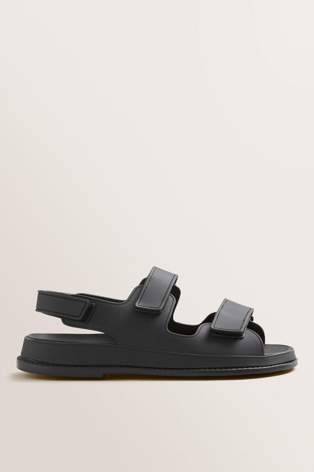 Jelly Footbed  BLACK  hi-res