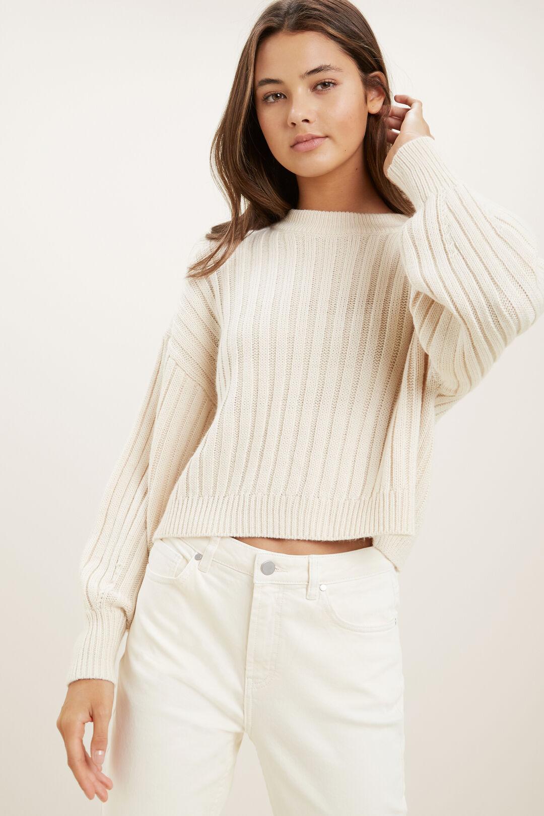 Rib Sweater  FRENCH VANILLA  hi-res
