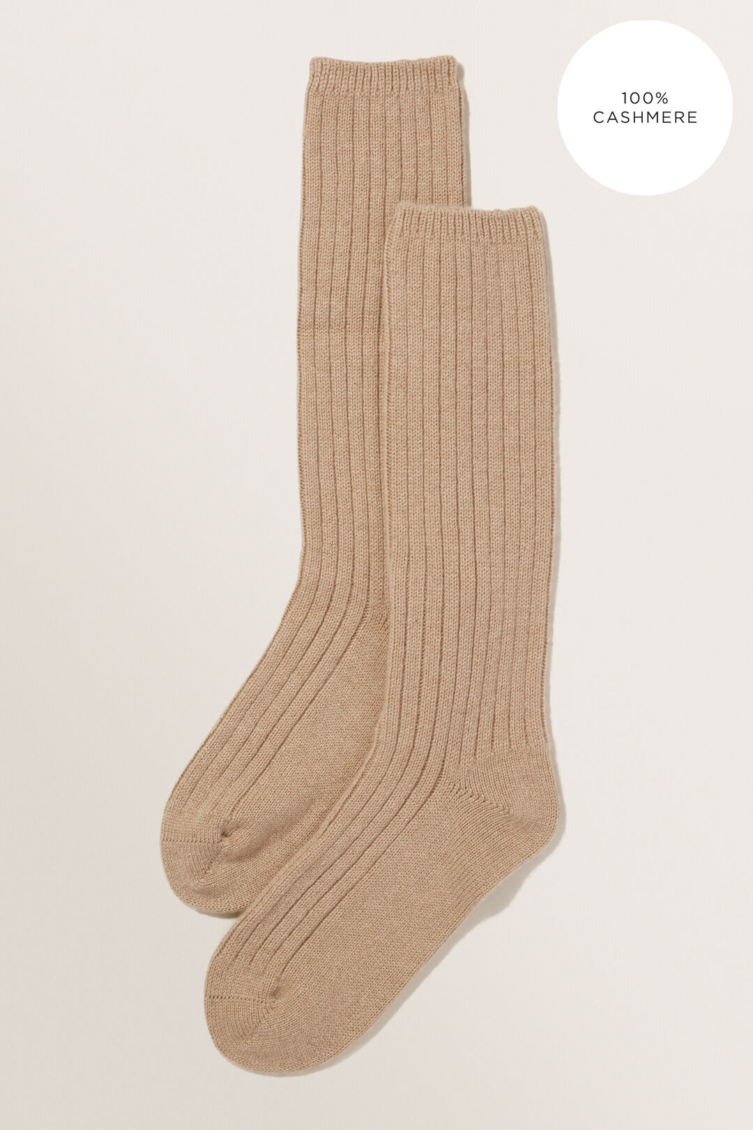 Cashmere Lounge Socks  WARM TAUPE  hi-res