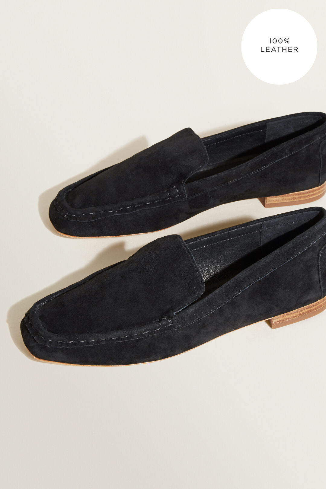 Suede Loafer  BLACK  hi-res