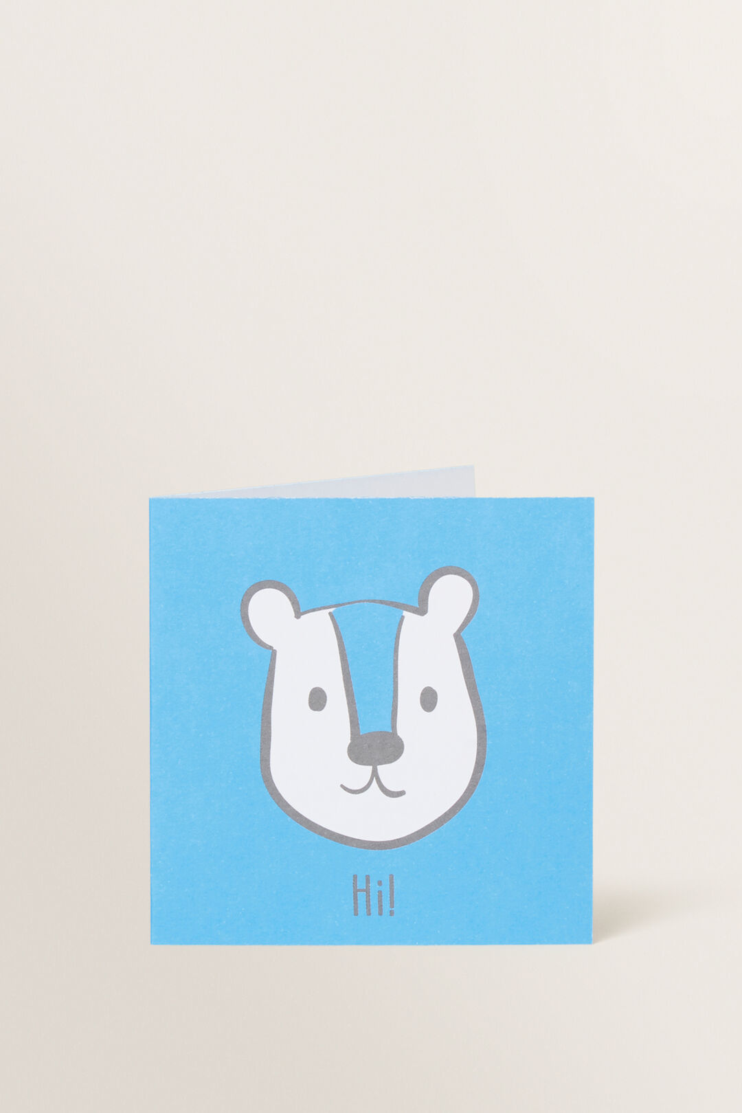 Small Blue Bear Card  MULTI  hi-res