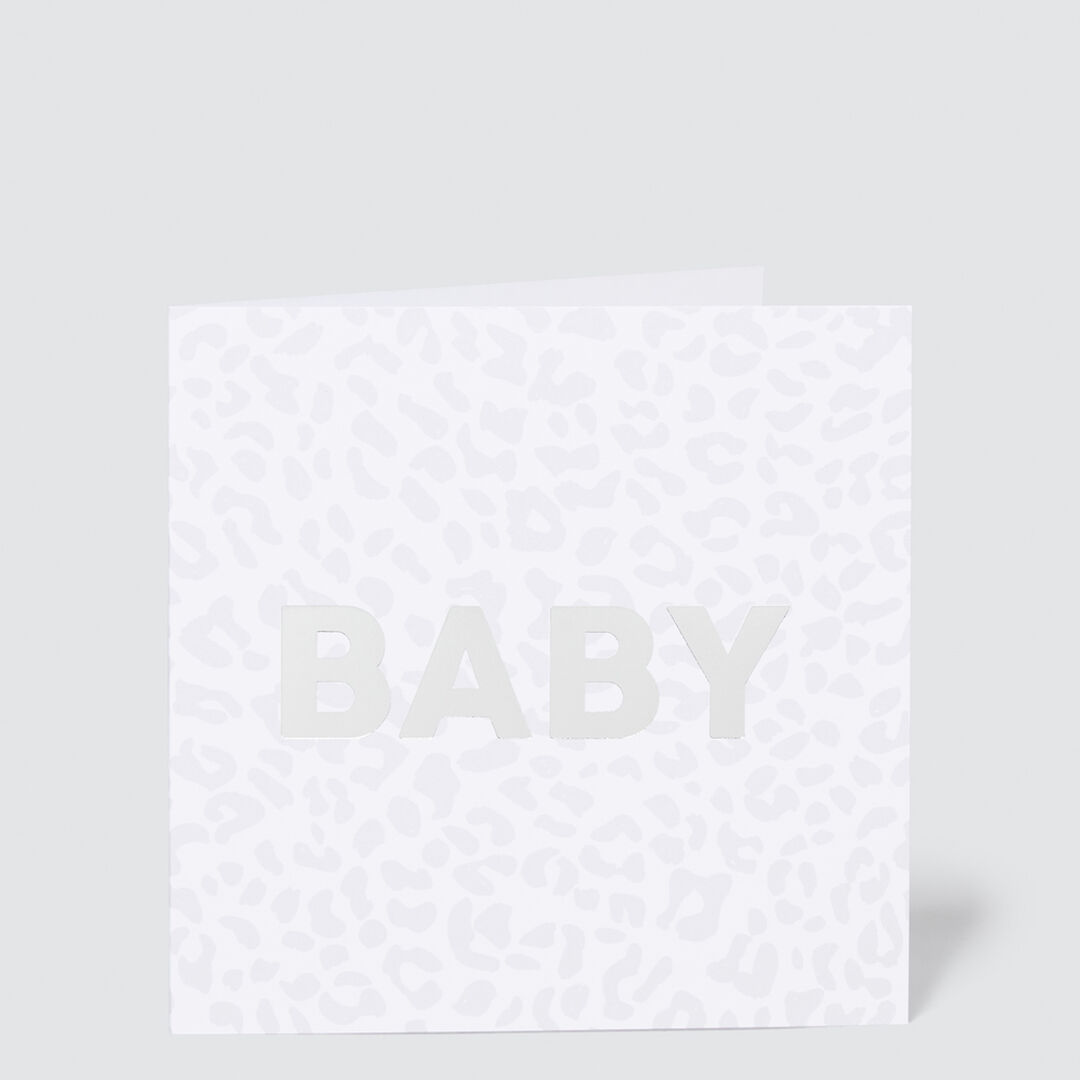 Ocelot Baby Card  MULTI  hi-res
