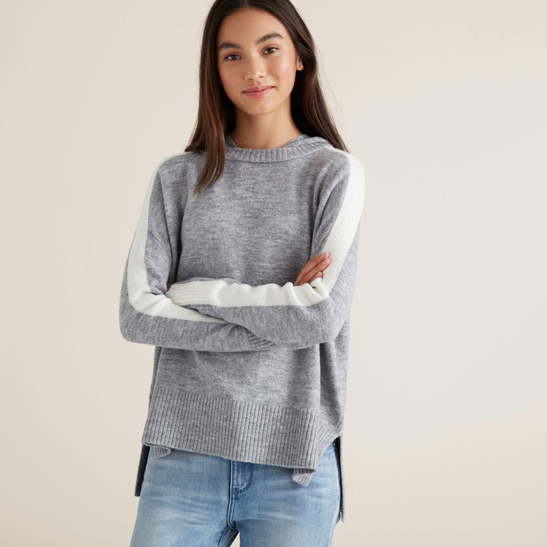 Hooded Sweater  GRANIT MARLE  hi-res