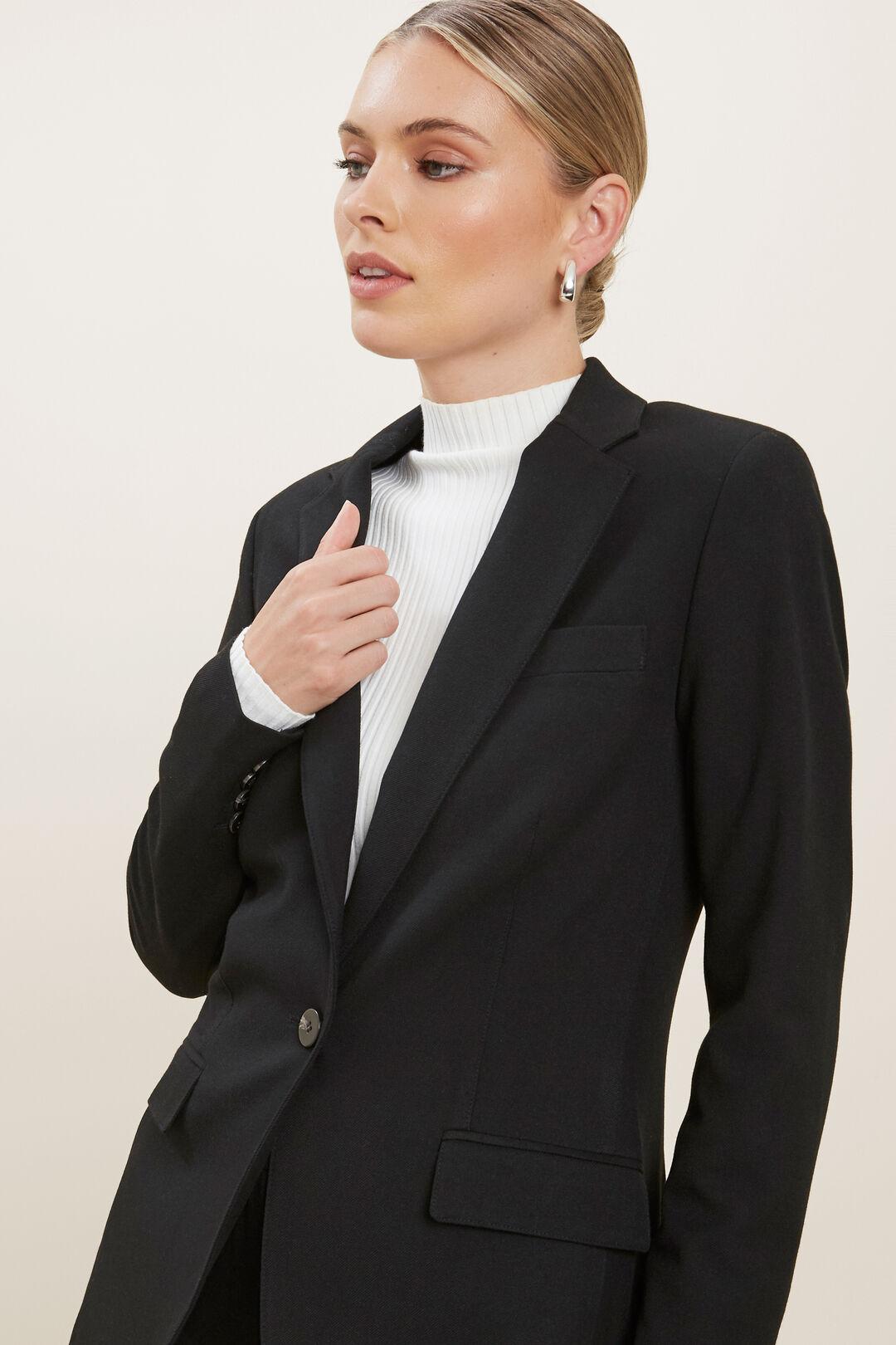 Basic Suit Blazer  BLACK  hi-res