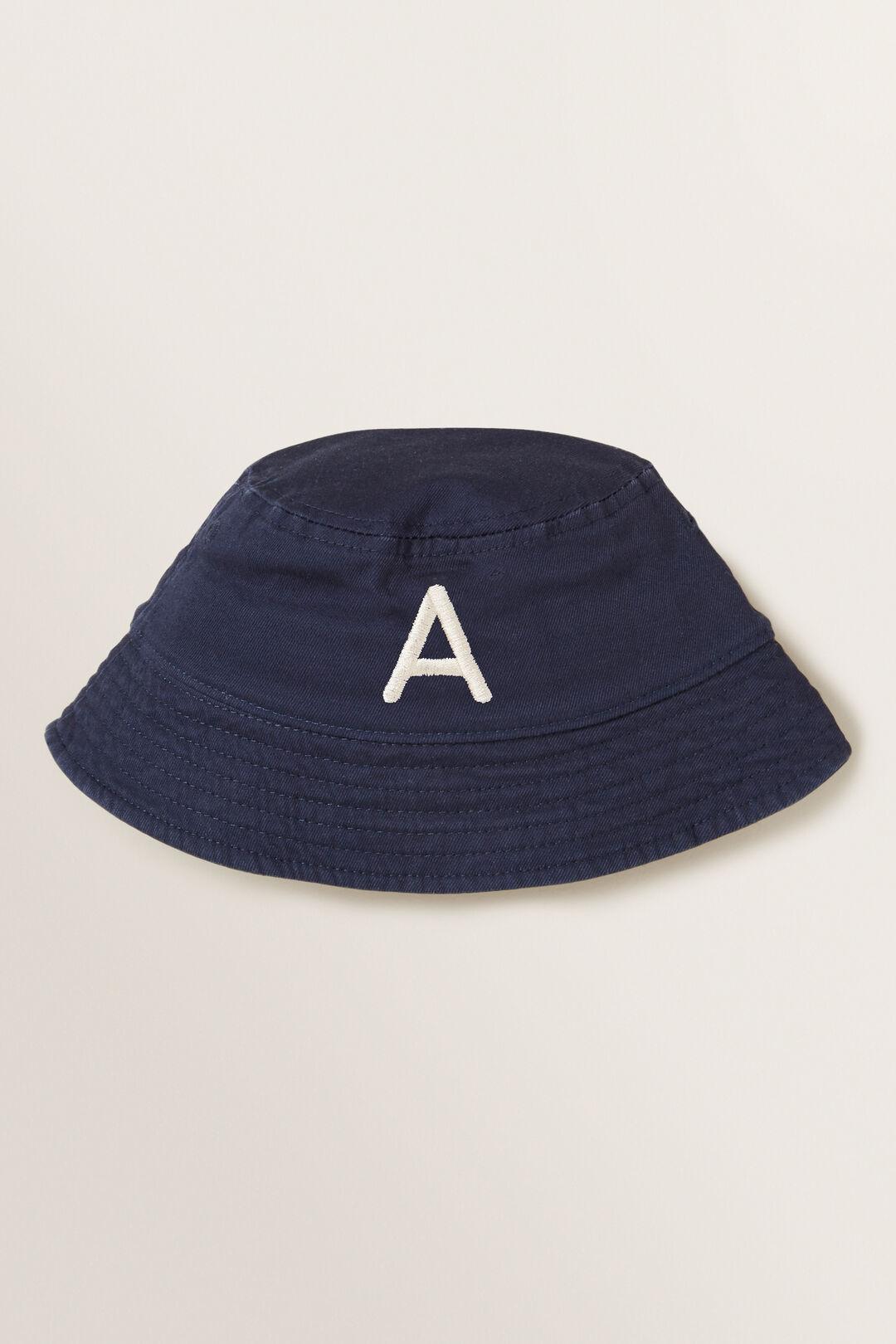 Initial Bucket Hat  A  hi-res