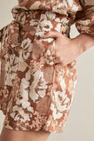 Floral Print Shorts  VINTAGE FLORAL  hi-res