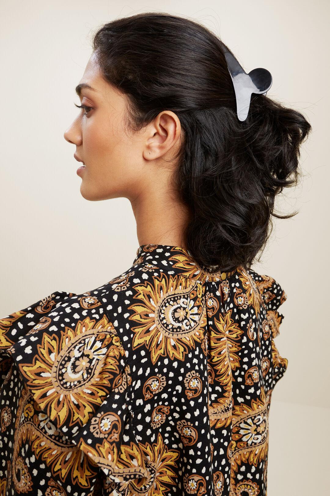 Tort Hair Clip  BLACK  hi-res