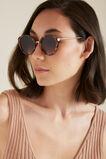Georgia Cateye Sunglasses  BROWN TORT  hi-res