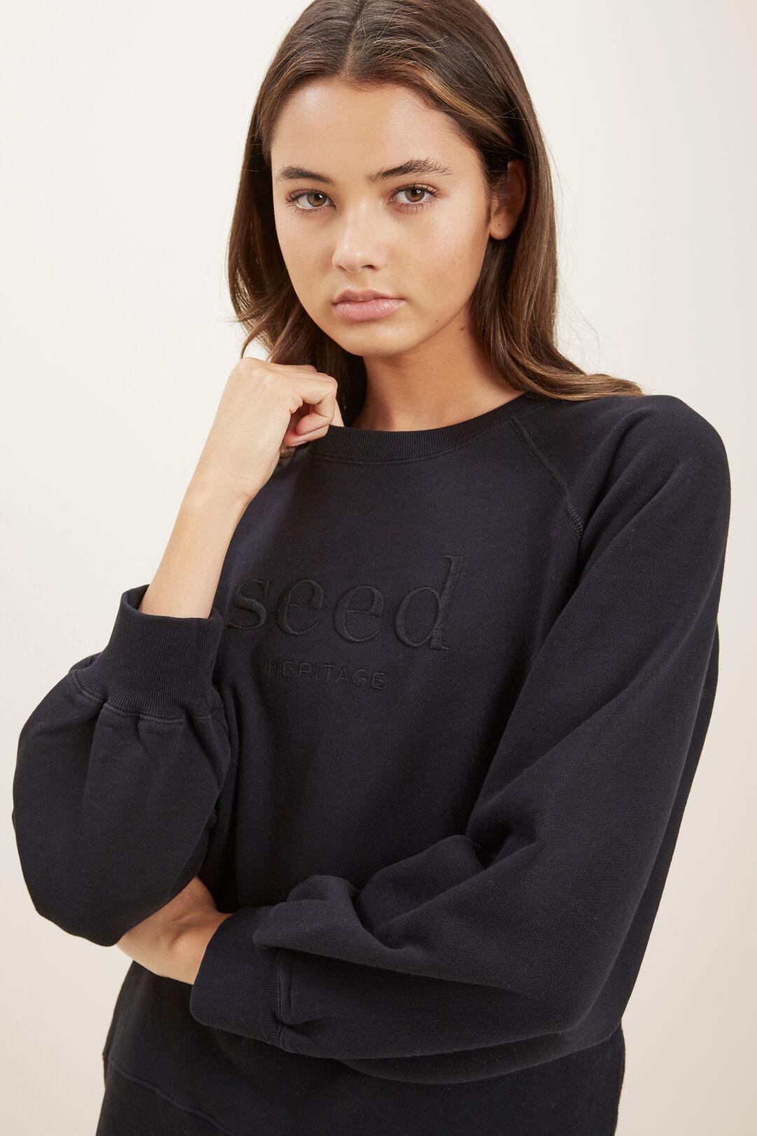 Essential Sweater  BLACK  hi-res
