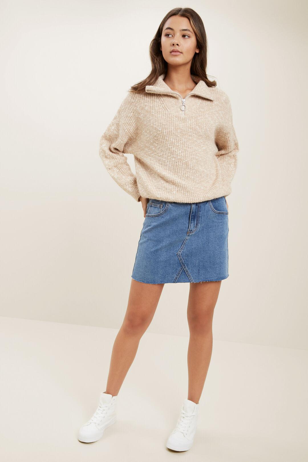Denim Skirt  VINTAGE INDIGO  hi-res