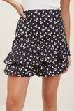 Frill Skirt  BLACK  hi-res