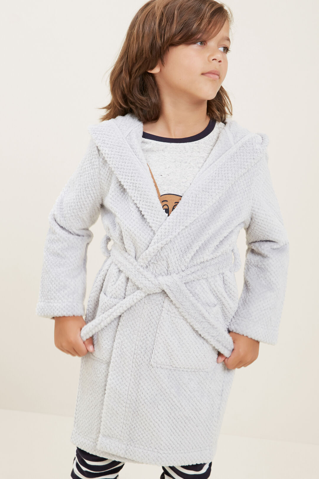 Dressing Gown  CLOUDY MARLE  hi-res