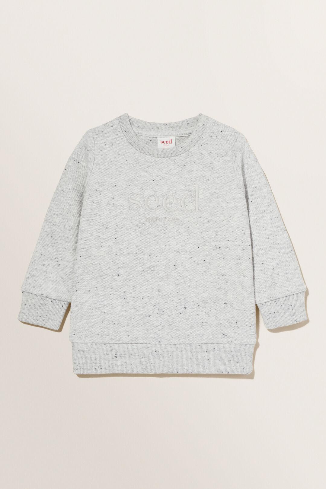 Logo Sweater  CLOUDY MARLE  hi-res