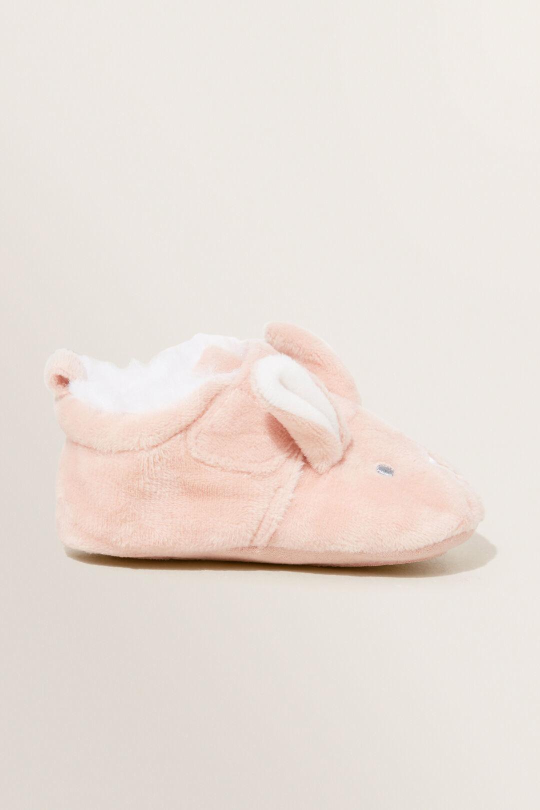 Pink  Bunny Slipper  DUSTY ROSE  hi-res