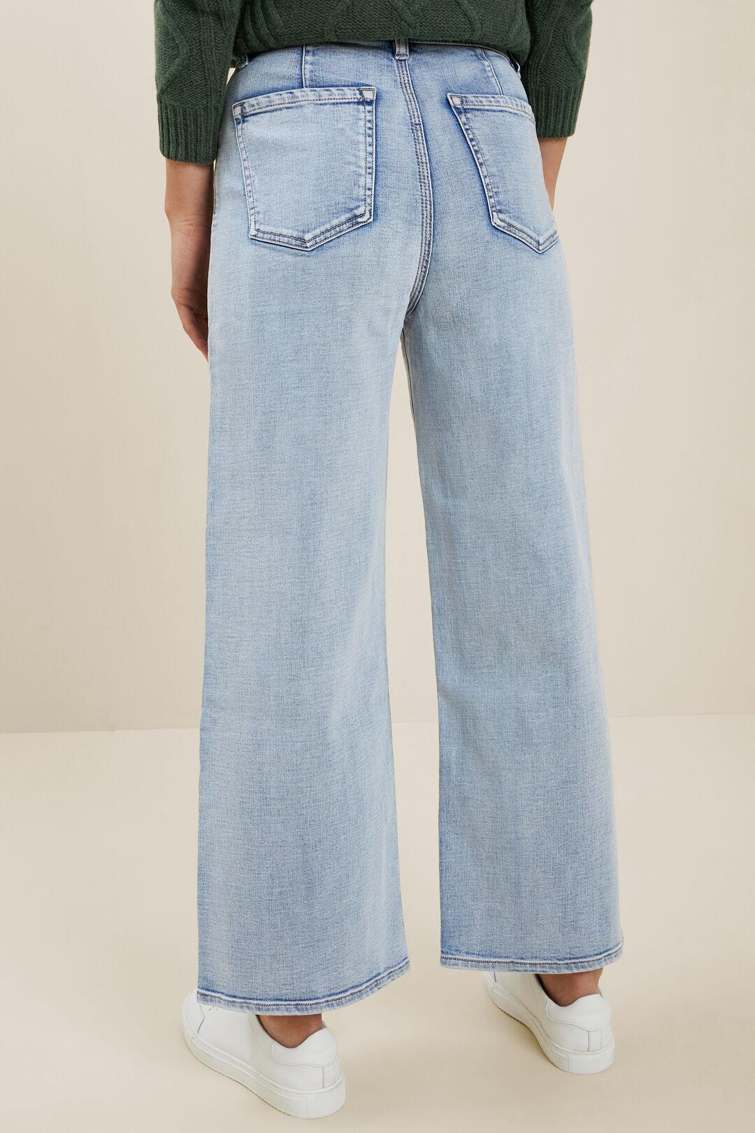Core Wide Leg Jean  LIGHT SKY DENIM  hi-res