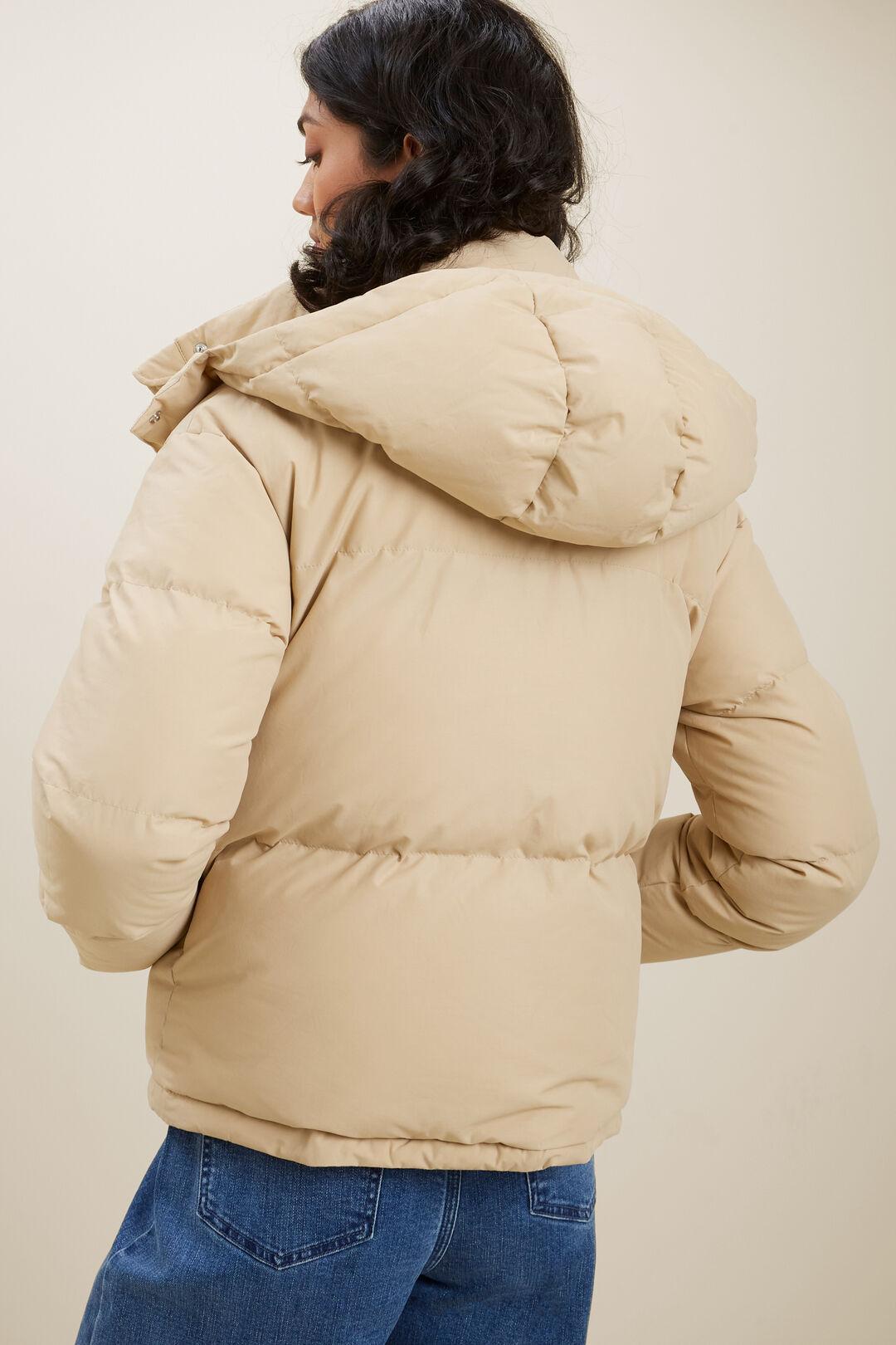 Core Puffer Jacket  CHAMPAGNE BEIGE  hi-res