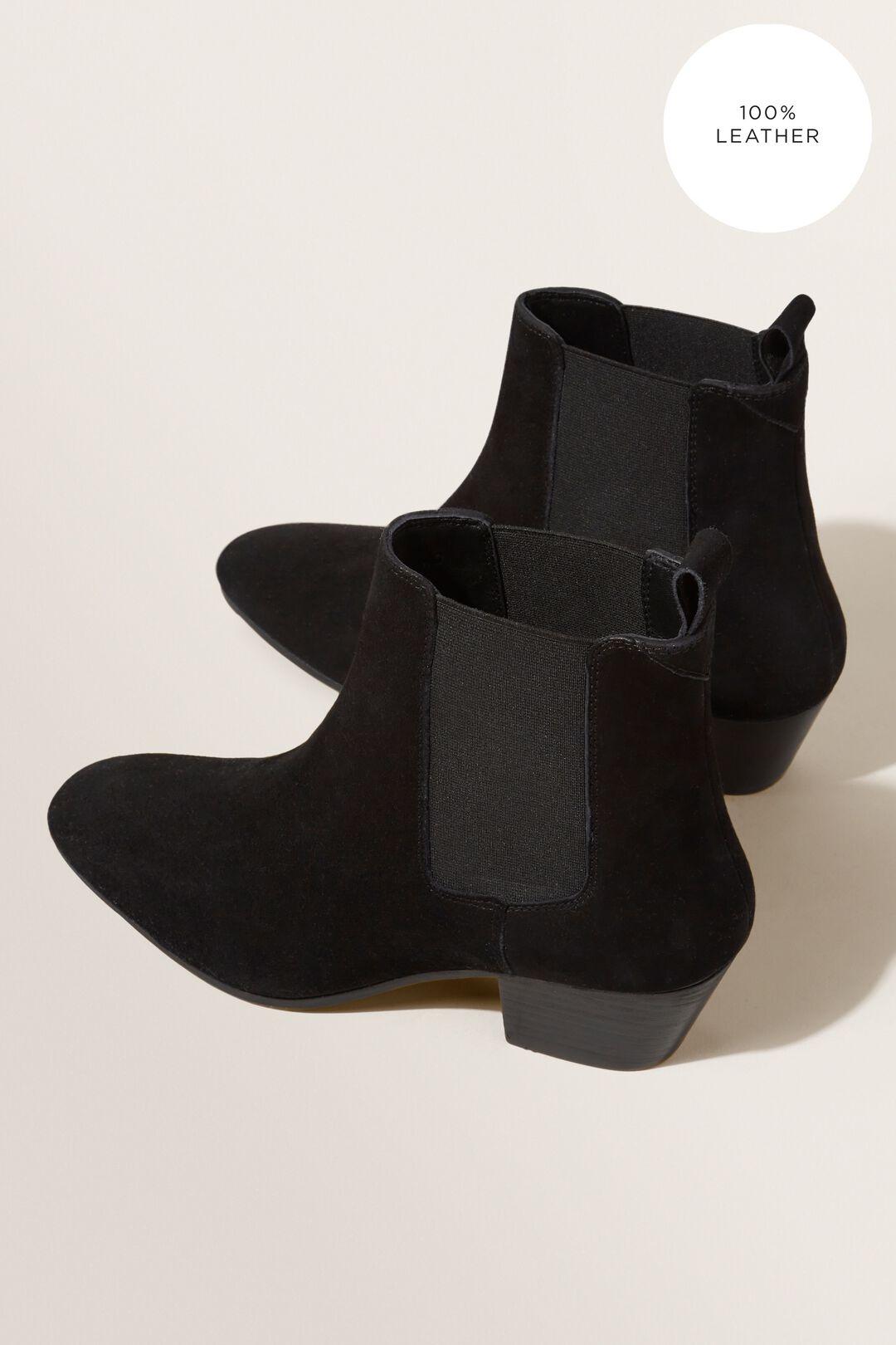 Tash Gusset Boot  BLACK  hi-res