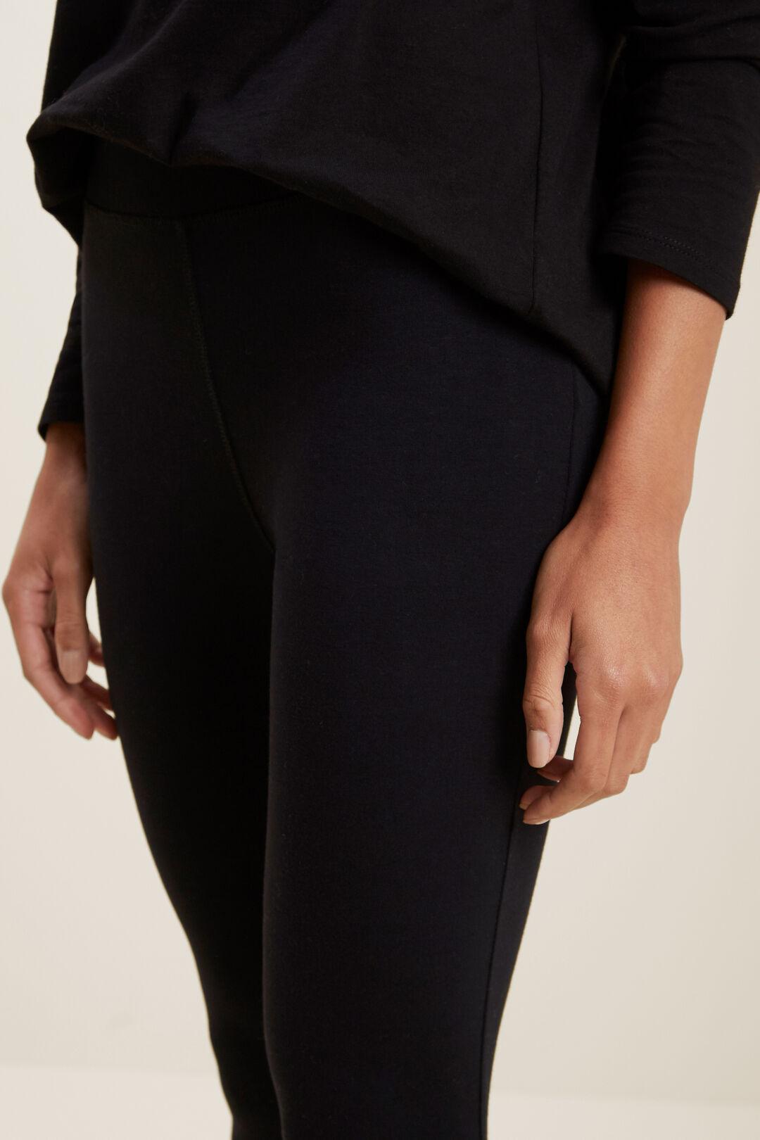 Classic Stretch Legging  BLACK  hi-res