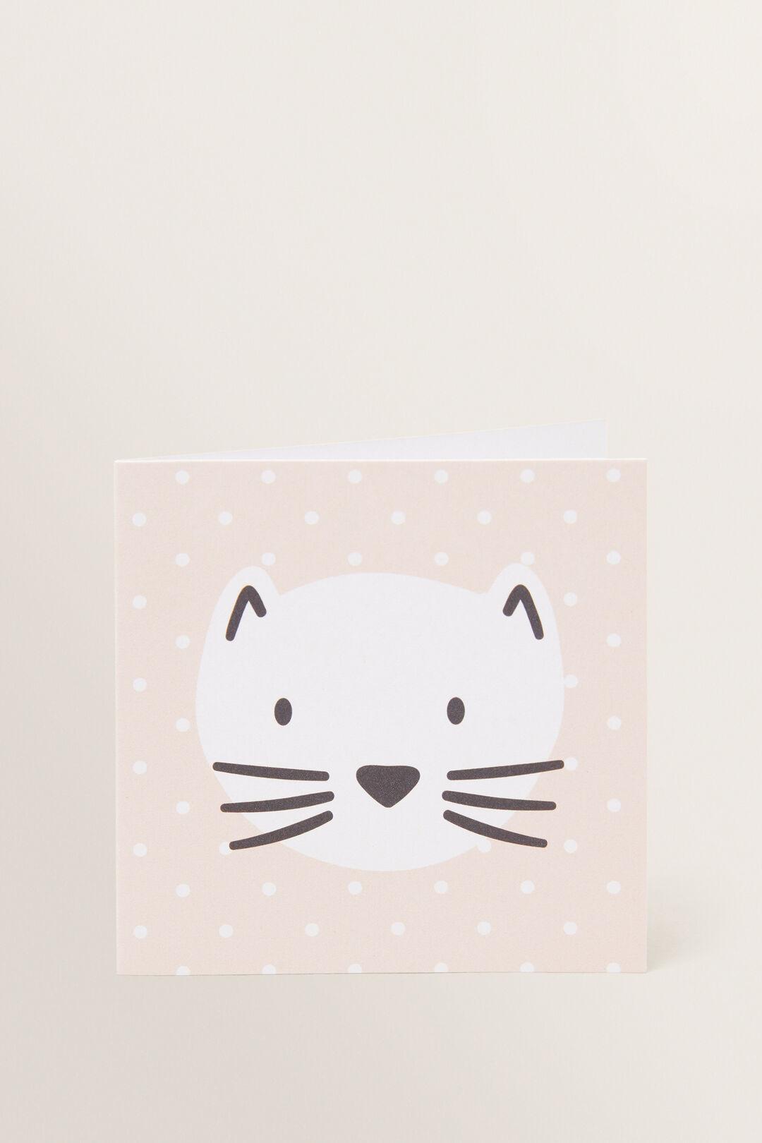 Small Cat Card  MULTI  hi-res