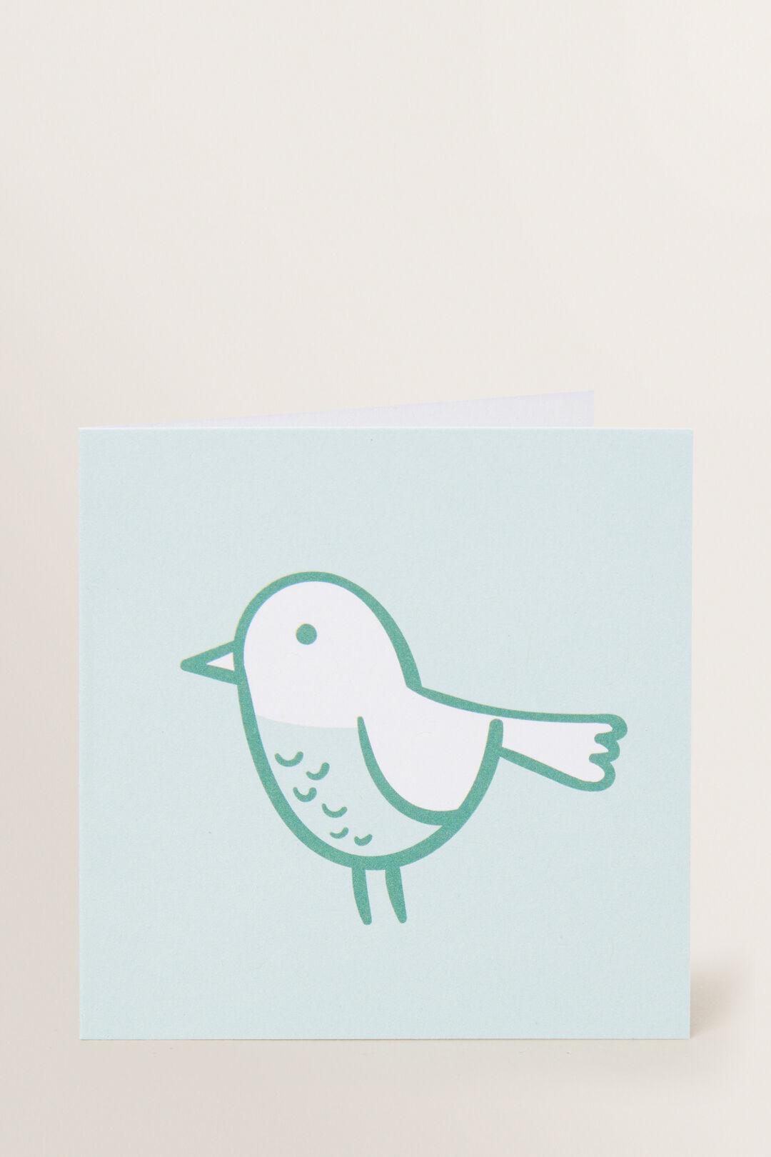 Small Bird Card  MULTI  hi-res