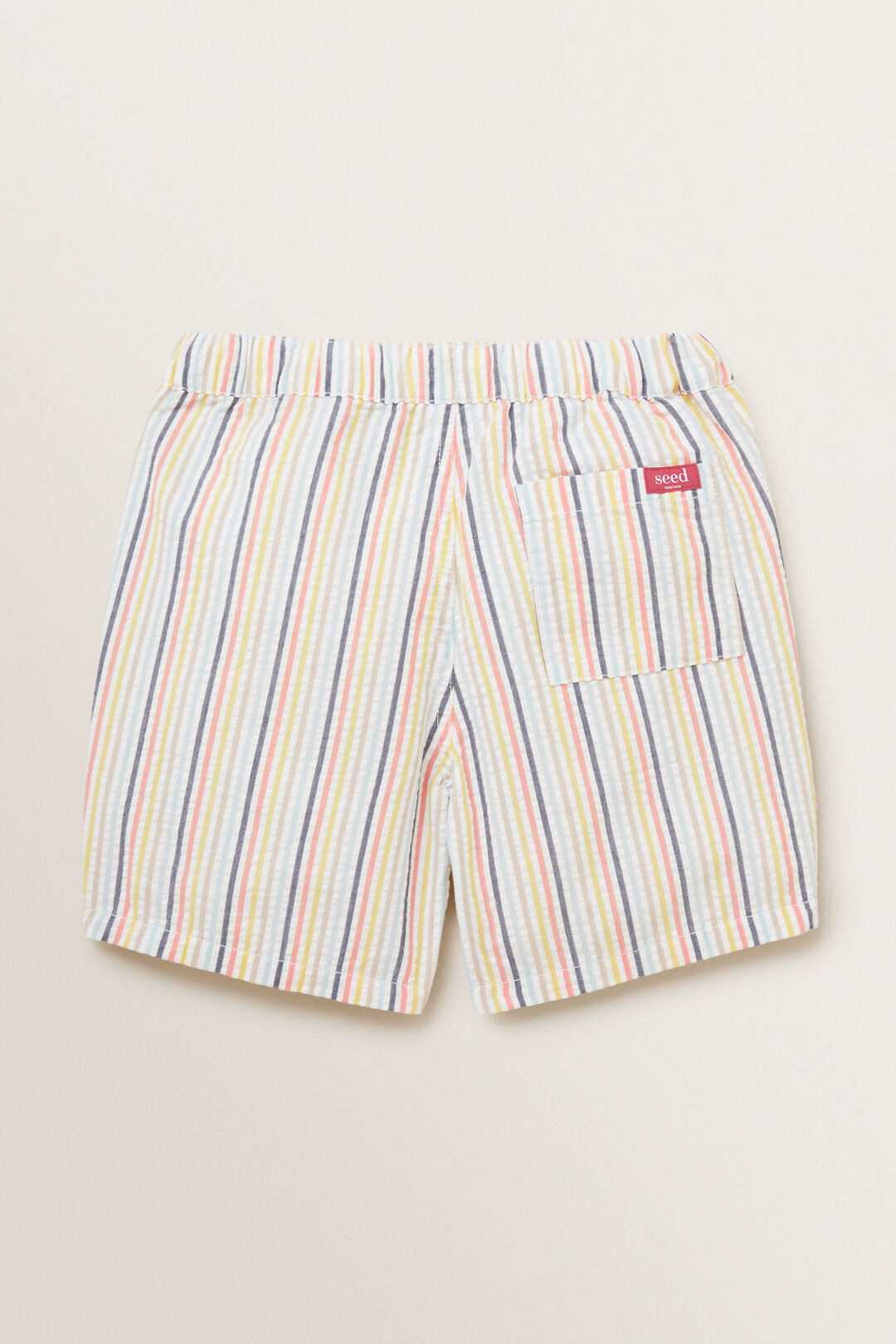 Seersucker Stripe Short  MULTI  hi-res
