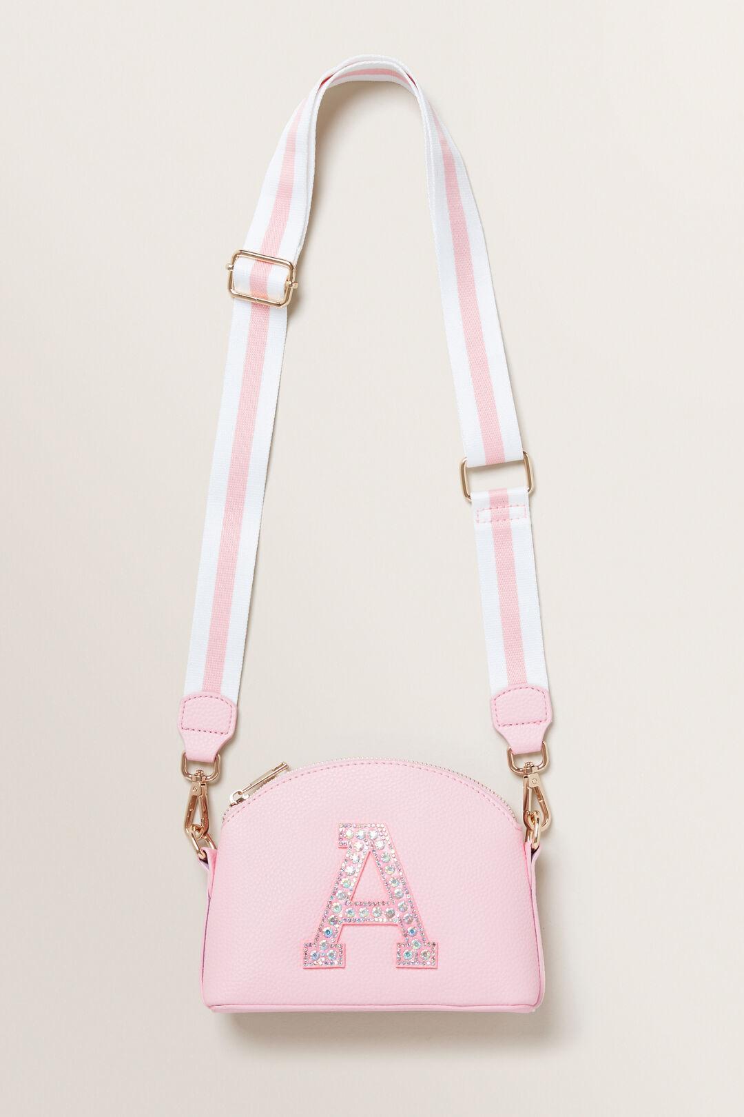 Initial Jewel Bag  A  hi-res