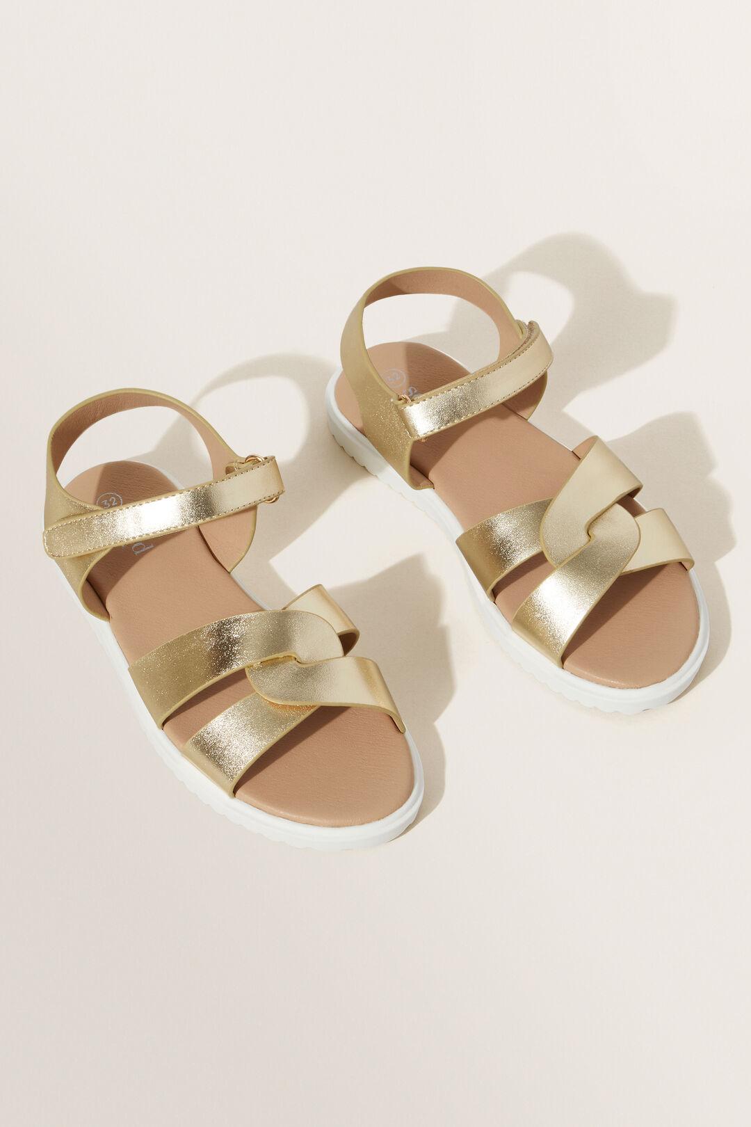 Summer Sandal  GOLD  hi-res