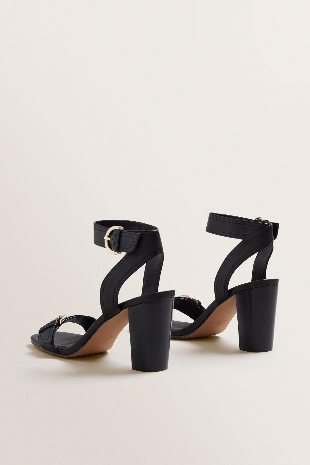 Annie Block Heel  BLACK  hi-res