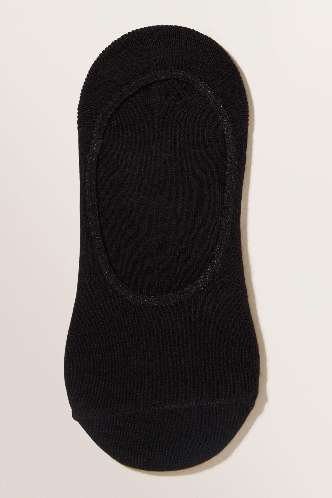 No Show Sock  BLACK  hi-res