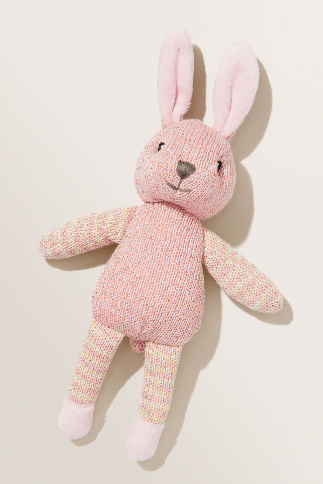 Button The Bunny Rattle  PINK  hi-res