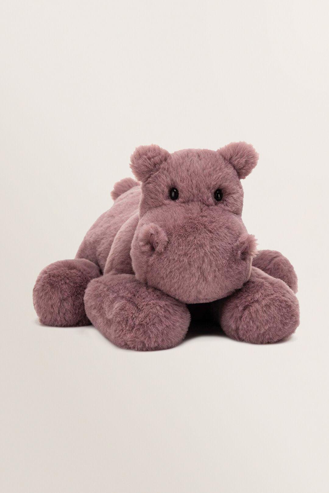 Jellycats Huggady Hippo  MAUVE  hi-res