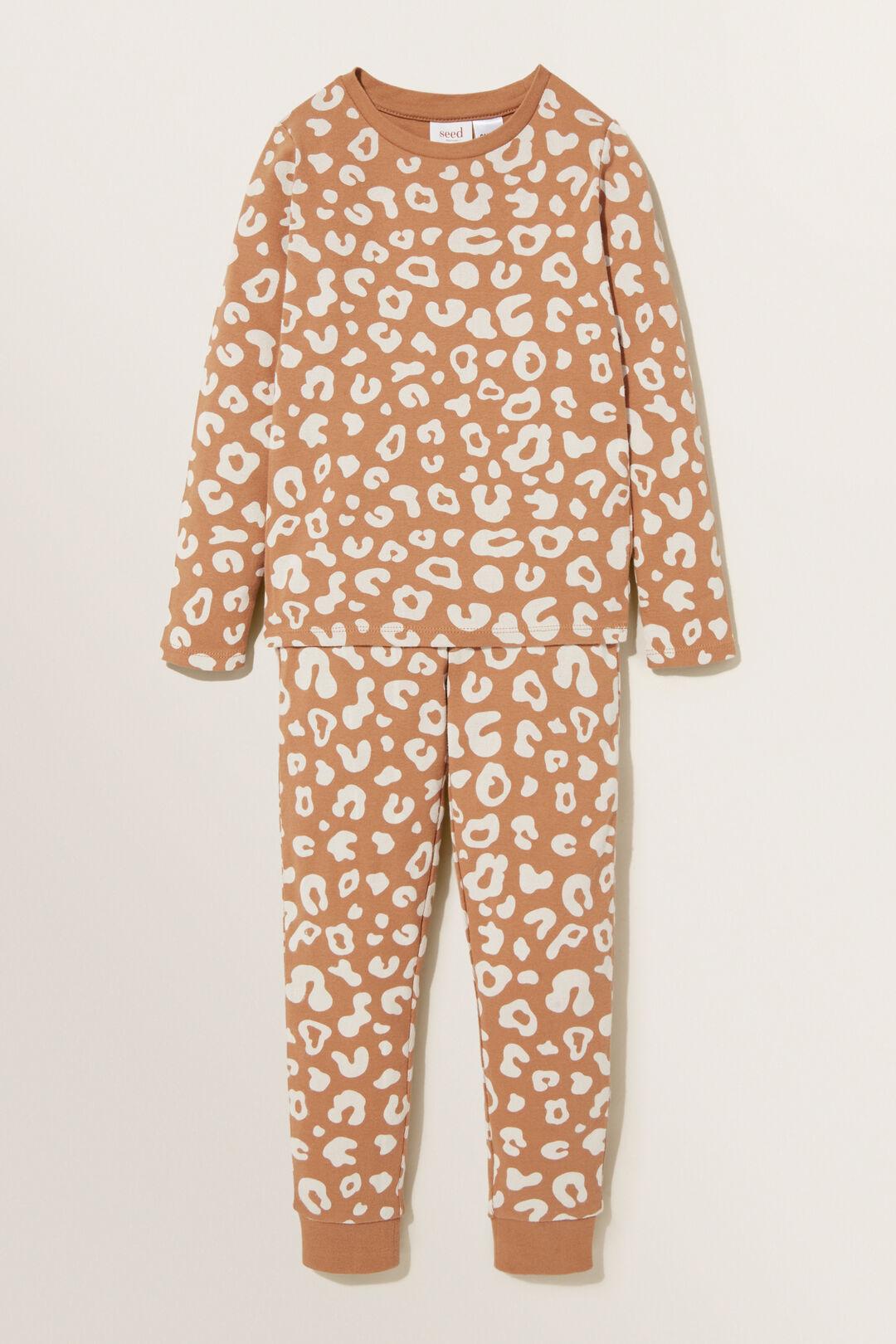 Ocelot Long Sleeve  Pyjamas  GINGER  hi-res