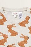 Marle Bunny Long Sleeve  Pyjamas  OAT MARLE  hi-res