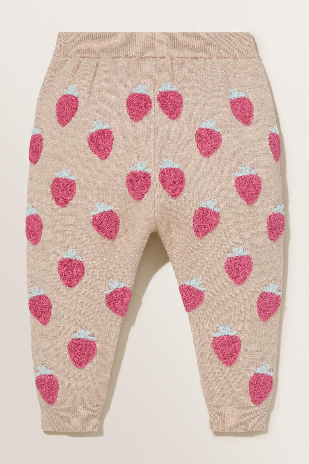 Strawberry Knit Pants  CHAI  hi-res