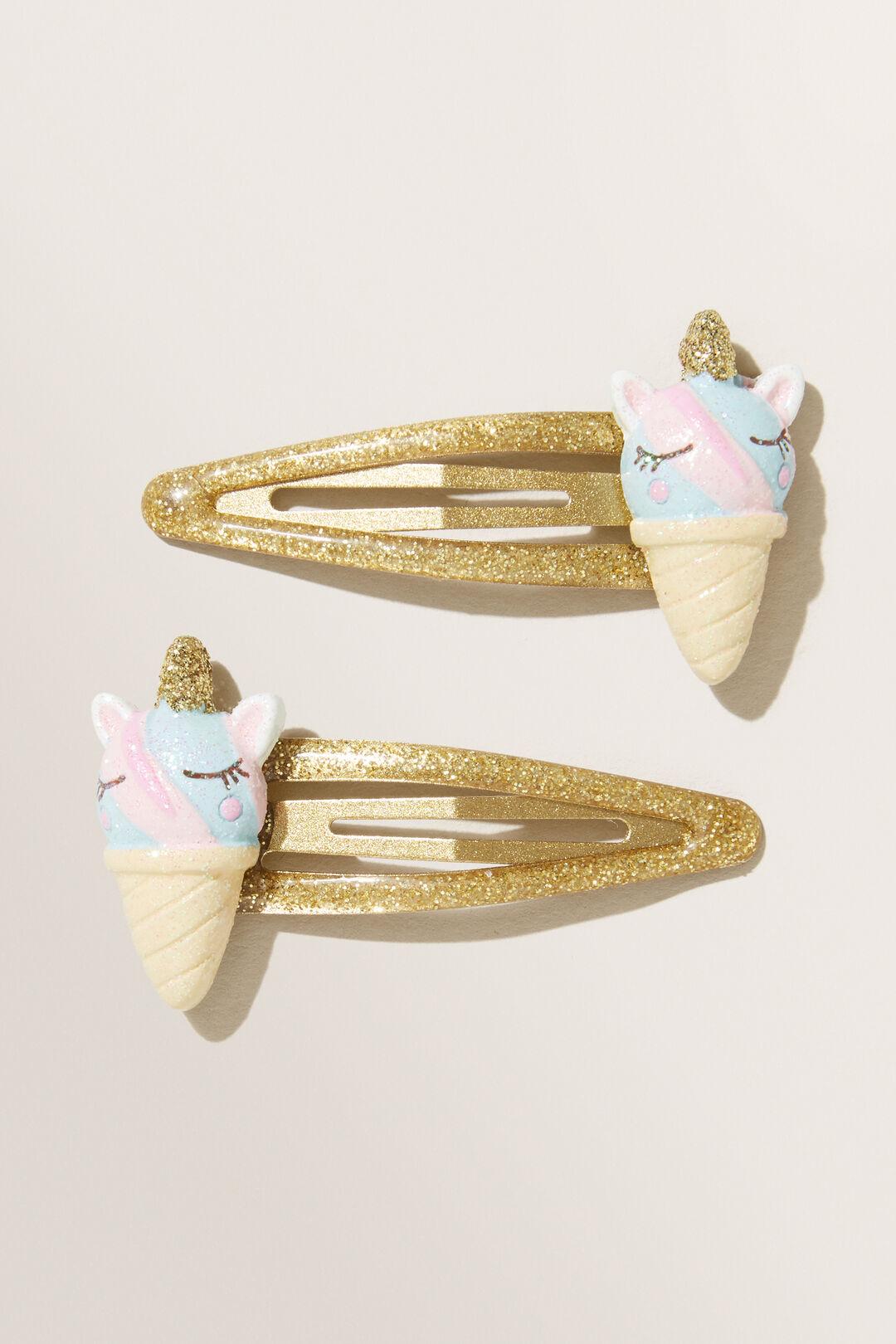 Unicorn Ice Cream Clips  MULTI  hi-res