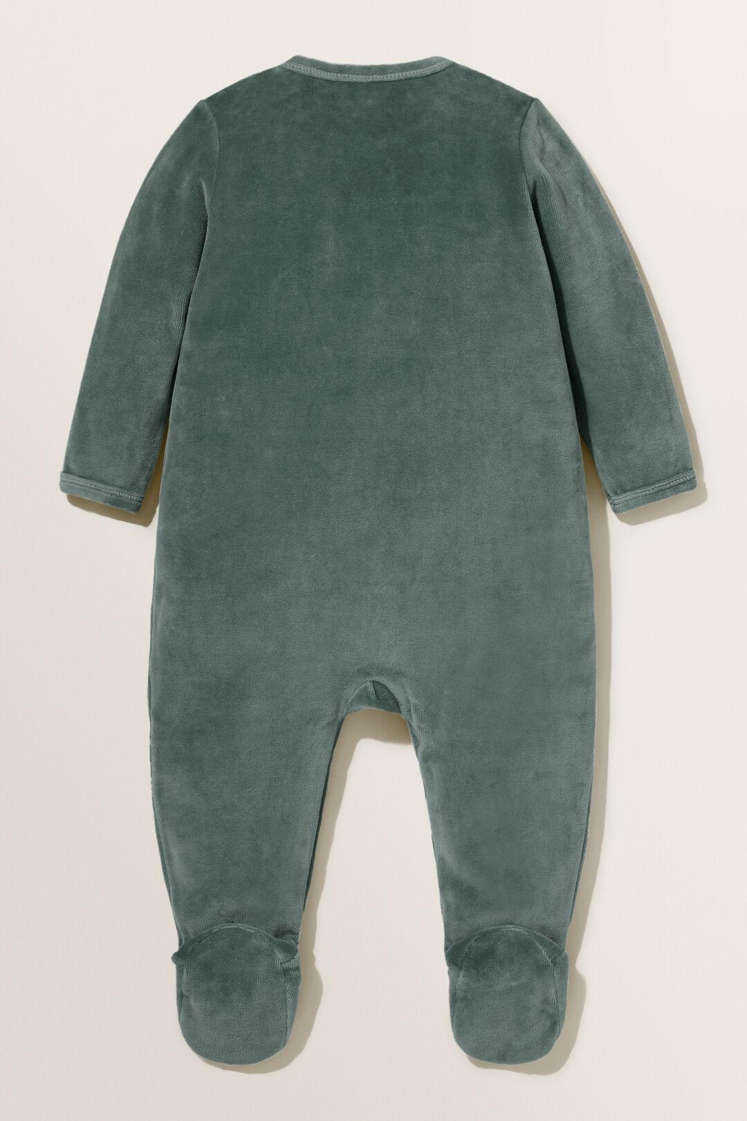 Velour Jumpsuit  CLOVER  hi-res