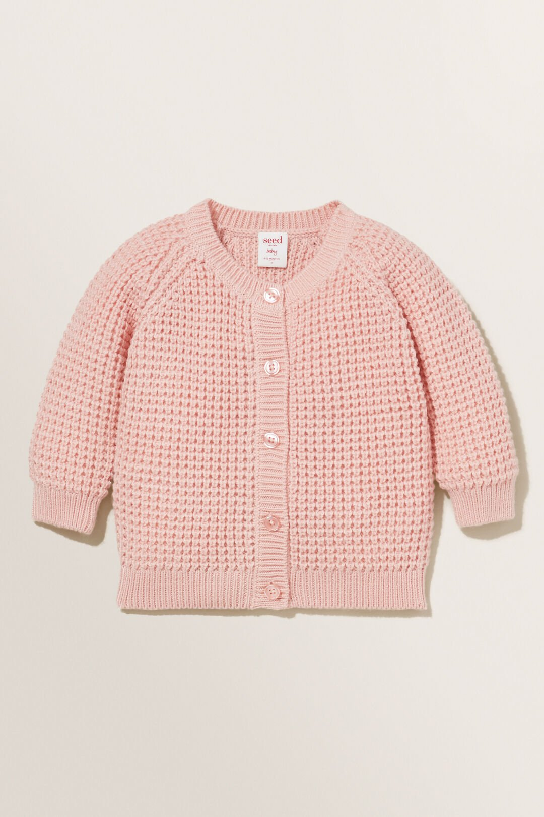 Raglan Knit Cardigan  PINK QUARTZ  hi-res