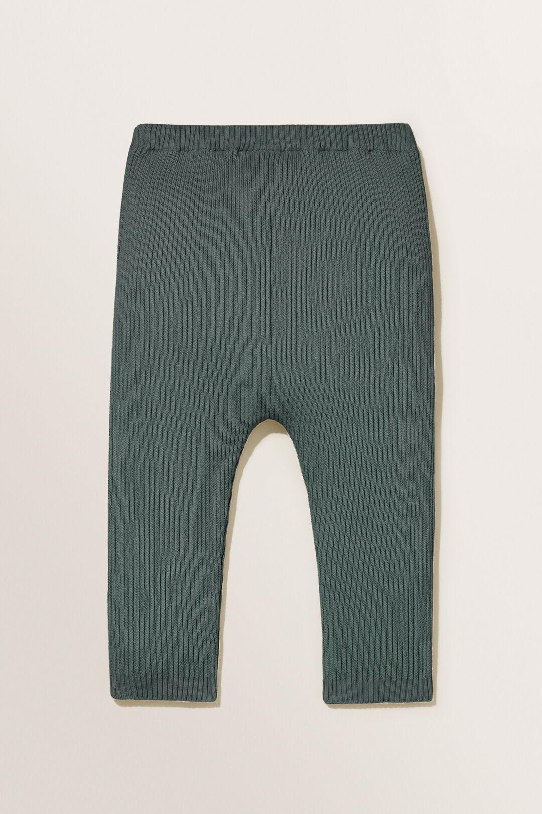 Rib Knit Pants  CLOVER  hi-res