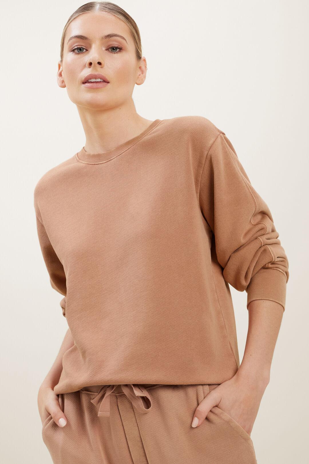 Vintage Wash Sweater  BURNT SIENNA VINTAGE  hi-res