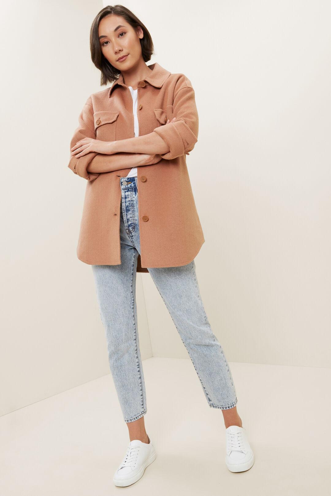 Overshirt Jacket  BURNT SIENNA  hi-res